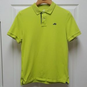 Nike Air Max Neon Green Polo Shirt - Large